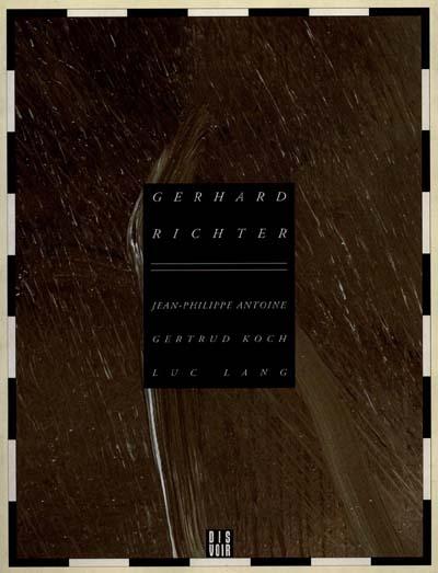 Gerhard richter (fr)