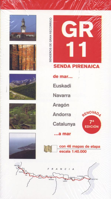 GR11 ; senda pirenaica ; de mar a mar (7e édition)
