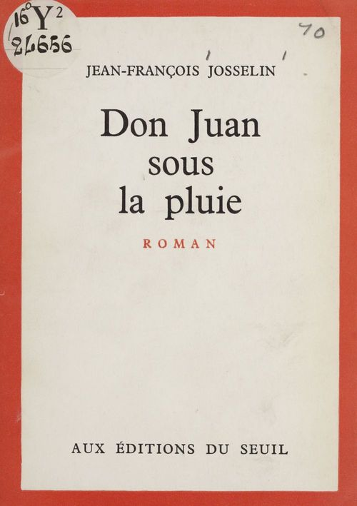 Don Juan sous la pluie