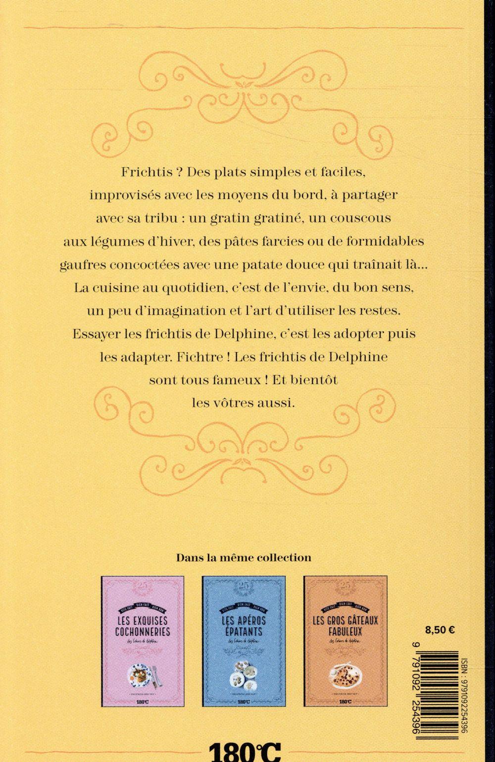 Les délicieux frichtis des cahiers de Delphine