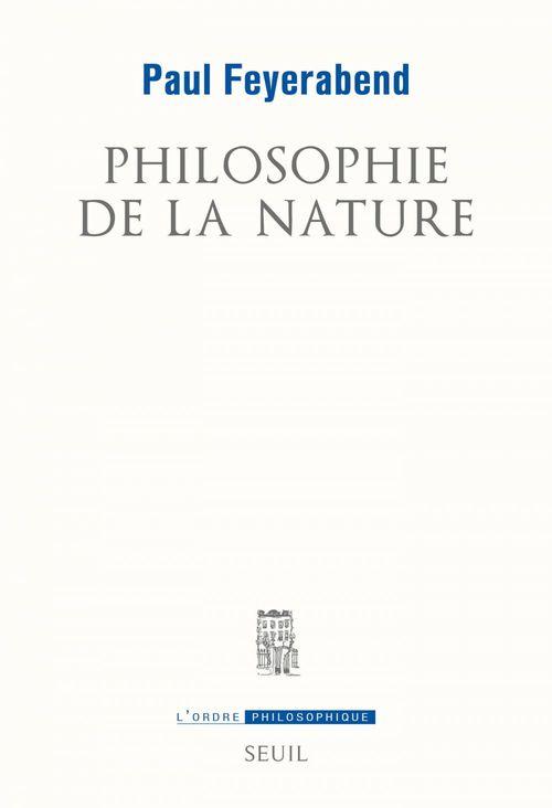 Philosophie de la nature
