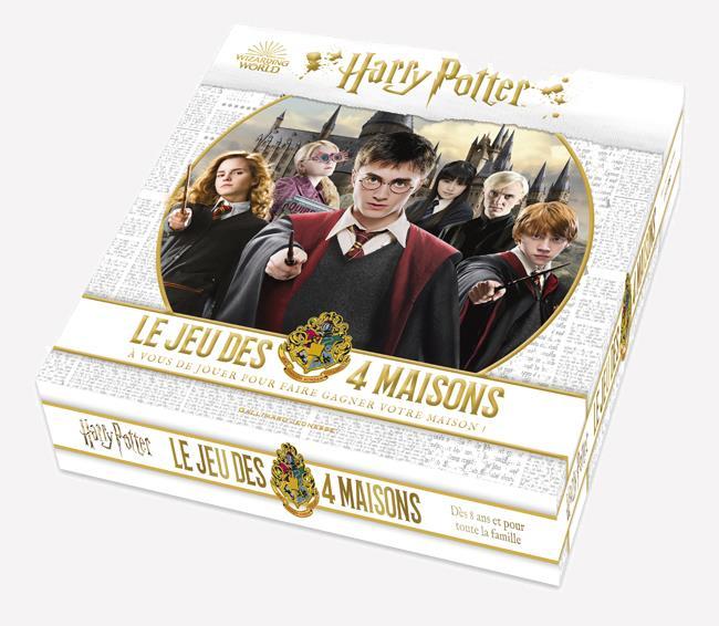 Harry Potter : le jeu des 4 maisons