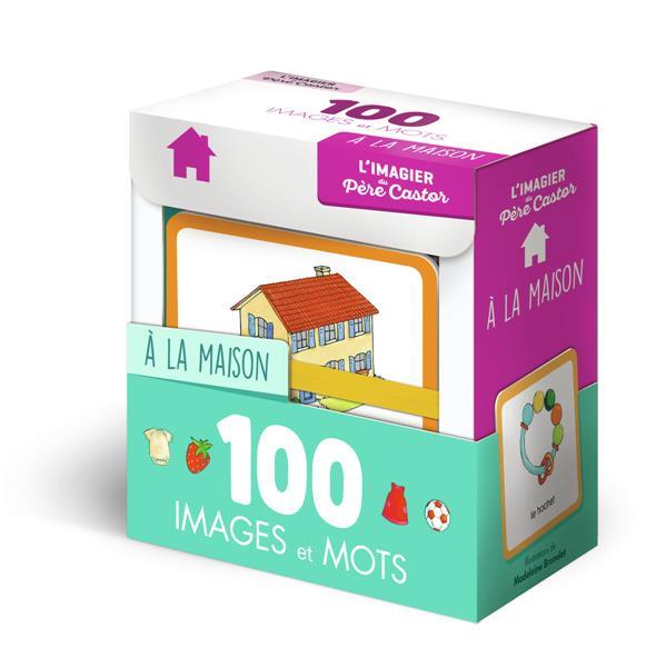 L'imagier du pere castor en 100 images et mots ; la maison