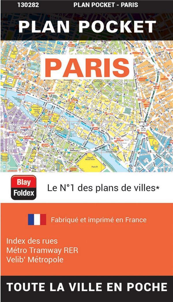 Paris ; plan pocket