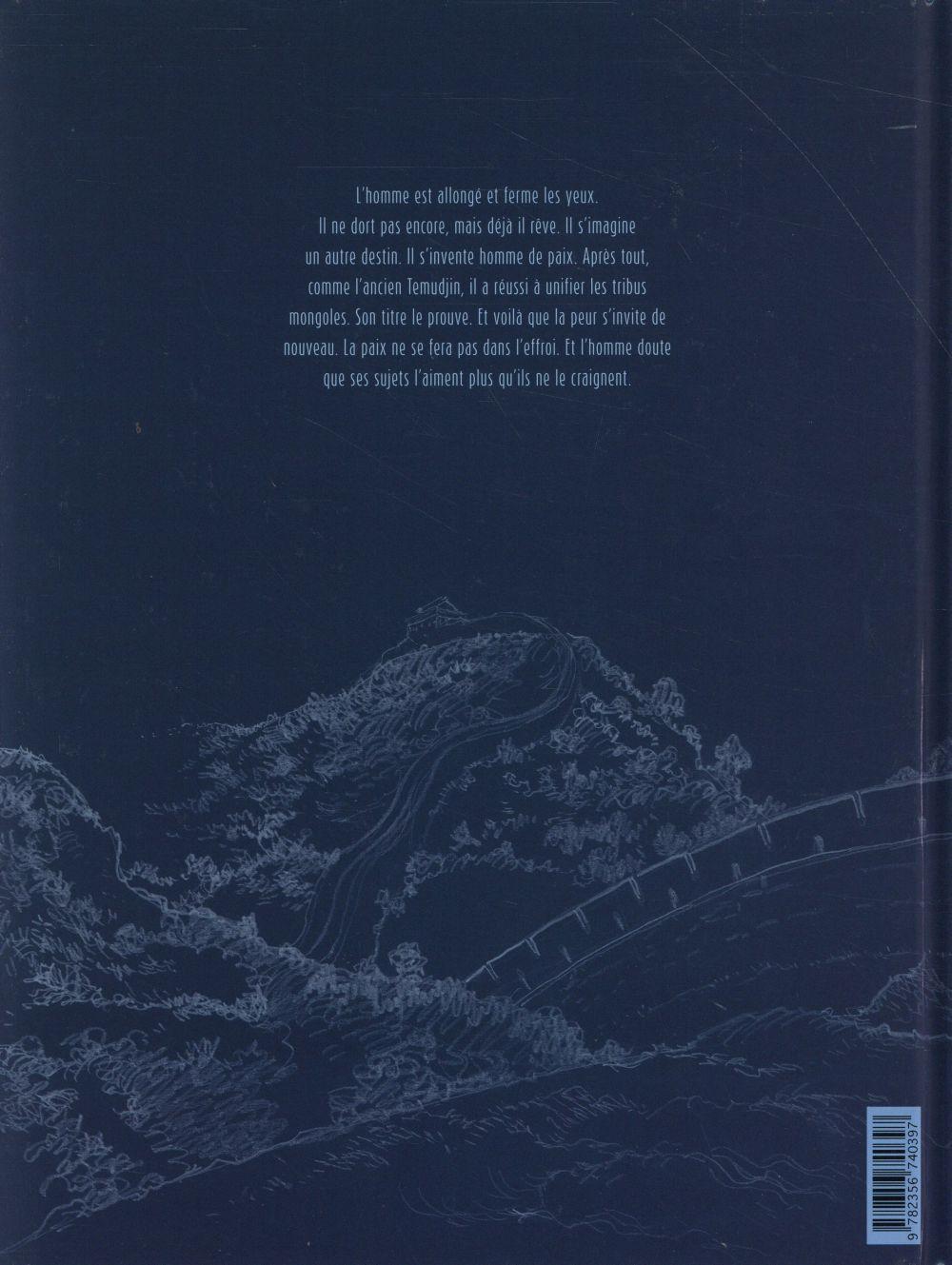Temudjin t.2 ; le voyage immobile