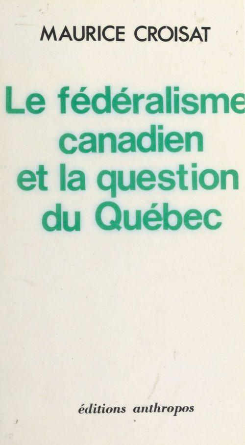 Federalisme canadien