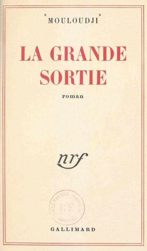 La grande sortie  - Marcel Mouloudji