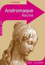 Couverture de Andromaque, de racine