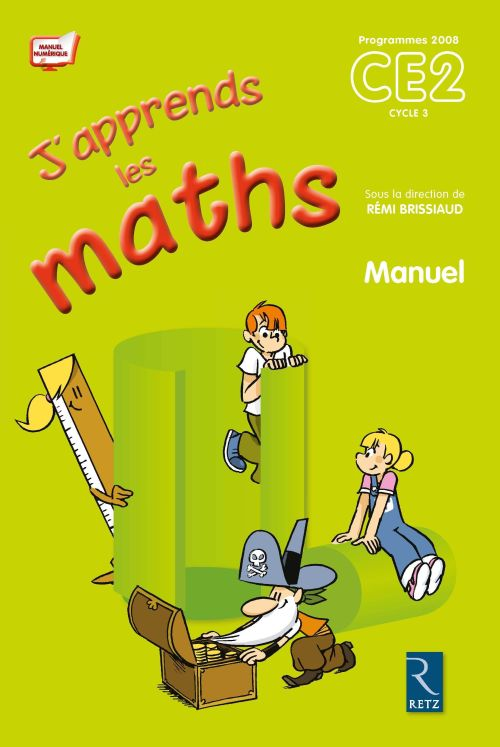 J'Apprends Les Maths; Ce2 ; Cycle 3 ; Manuel + Fichier