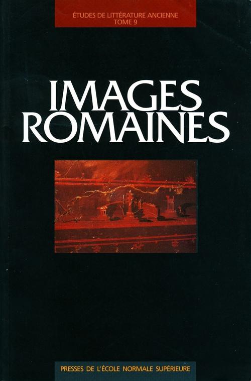 Images romaines ; études de littérature ancienne
