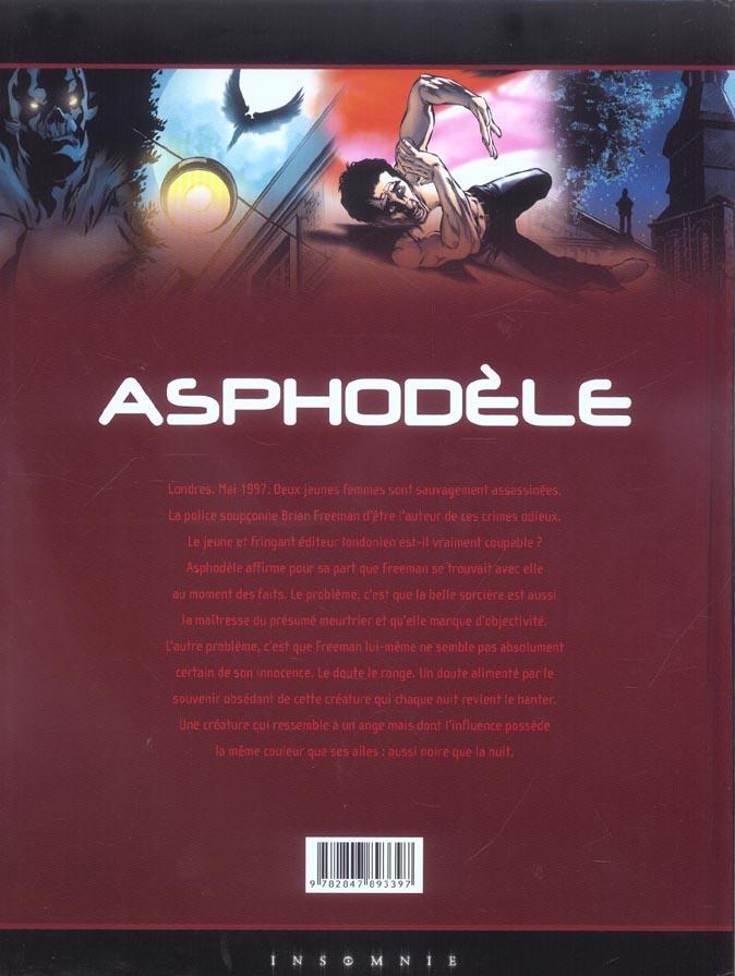 Asphodèle t.3 ; l'ange noir