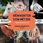Vente AudioBook : Réinventer son métier. Témoignages de vie  - Sarah Roubato