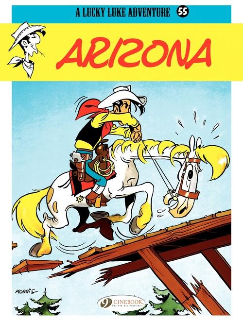 Lucky Luke T.55 ; Arizona
