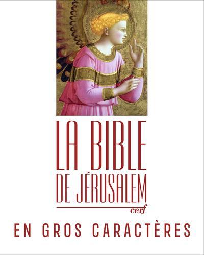 LA BIBLE DE JERUSALEM EN GROS CARACTERES