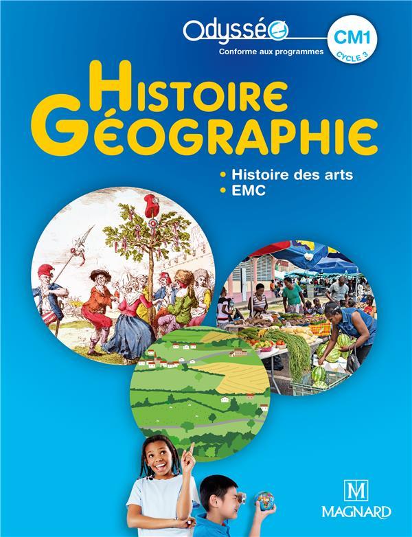 Odysséo ; histoire-géographie ; CM1 ; manuel élève