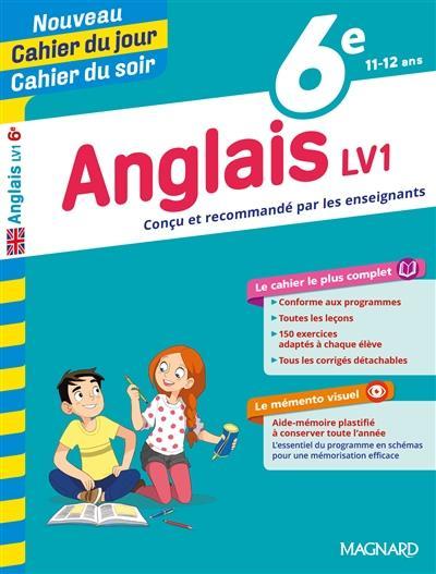 Cahiers Du Jour Soir Anglais 6e Lv1 Collectif Magnard Grand Format Maison Du Livre Rodez