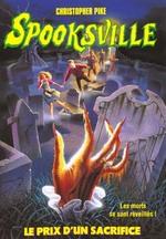Couverture de Spooksville n.21 ; le prix du sacrifice