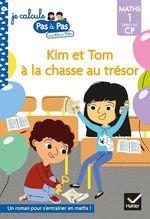 Vente EBooks : Je calcule pas à pas Maths 1 Début de CP - Kim et Tom à la chasse au trésor  - Alice Turquois