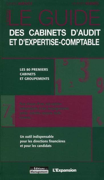 Guide Des Cabinets D'Audit Et D'Expertise-Comptable