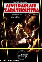 Vente Livre Numérique : Ainsi parlait Zarathoustra, un livre pour tous et pour personne  - Friedrich Nietzsche