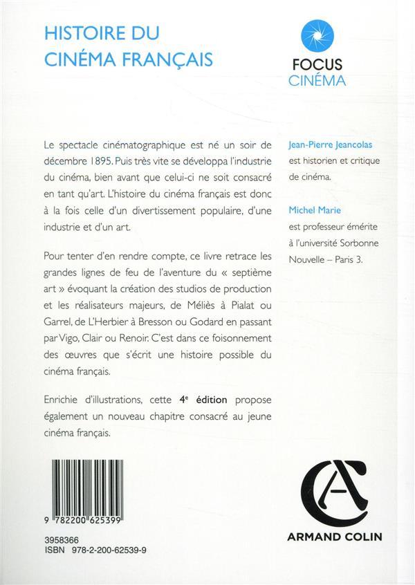 Histoire du cinéma français (4e édition)