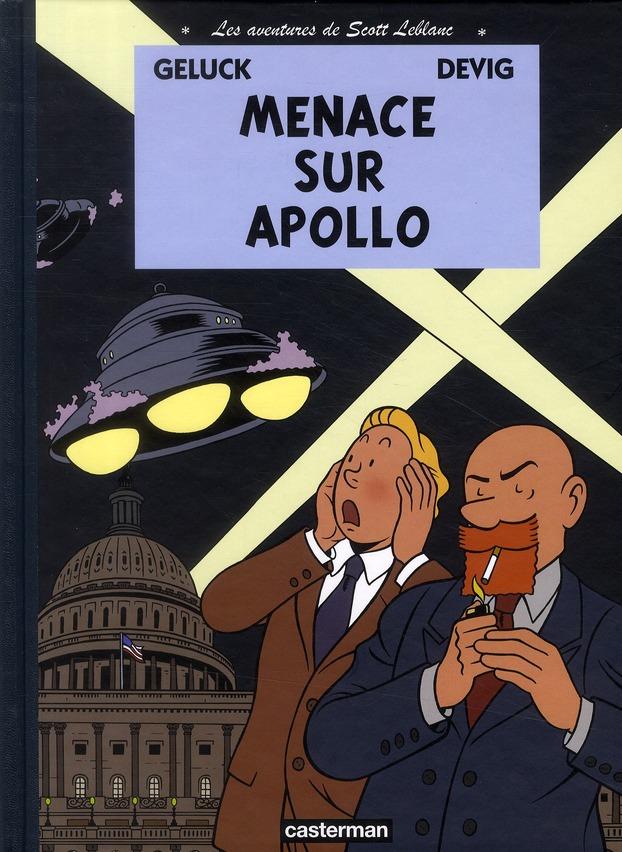 Les aventures de Scott Leblanc t.2 ; menace sur Apollo