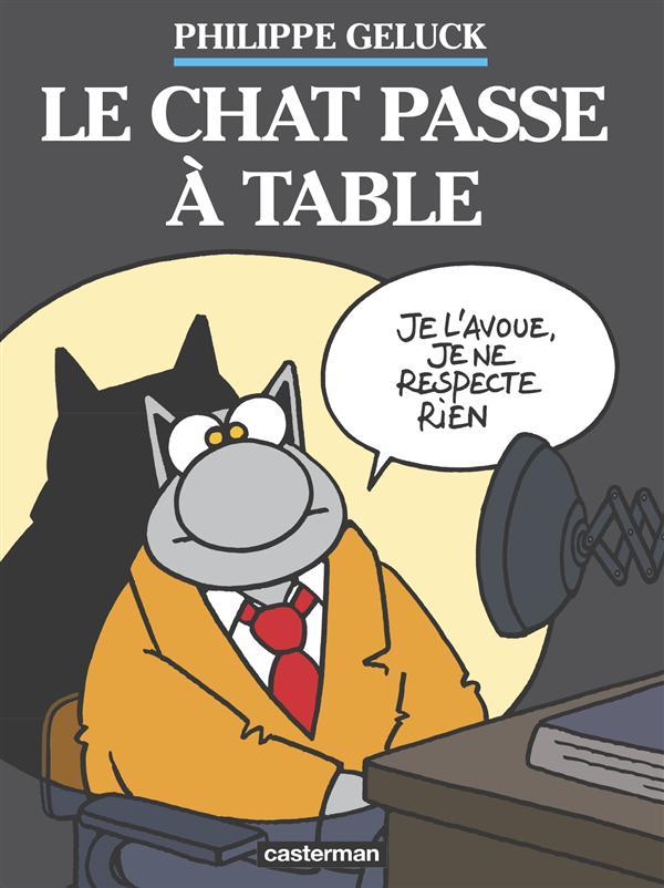 Le Chat t.19 ; le chat passe à table
