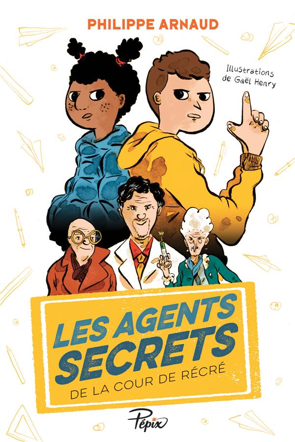 Les agents secrets de la cour de récré