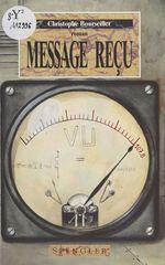 Vente Livre Numérique : Message reçu  - Christophe BOURSEILLER