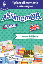Vente EBooks : Assimemor - Le mie prime parole in inglese: House and Objects  - Léa Fabre - Céladon