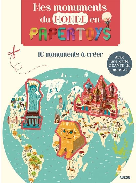 Papertoys géants ; mes monuments du monde en papertoys