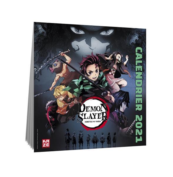 Demon slayer ; calendrier (édition 2021)