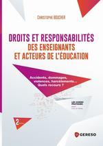 Vente Livre Numérique : Droits et responsabilités des enseignants et acteurs de l'éducation  - Christophe Boucher
