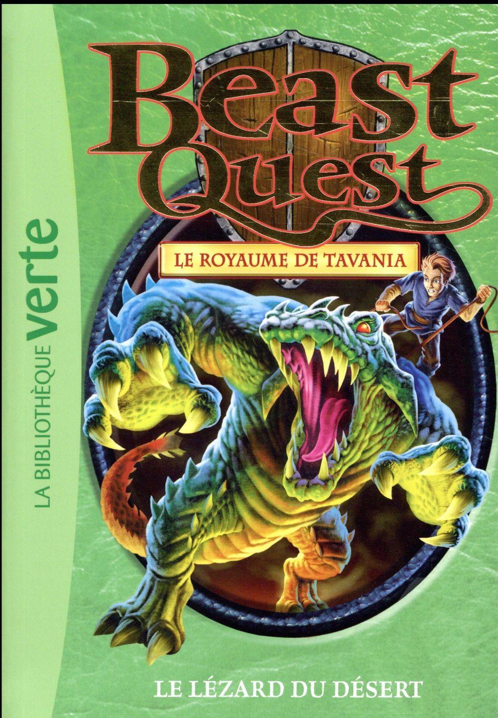 Beast Quest T.41 ; le lézard du désert