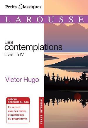 les contemplations, livres I à IV