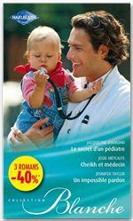Vente Livre Numérique : Le secret d'un pédiatre - Cheikh et médecin - Un impossible pardon  - Jacqueline Diamond  - Jennifer Taylor  - Josie Metcalfe