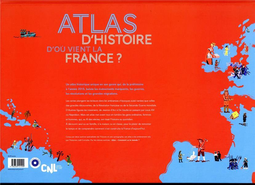 D'où vient la France ? atlas d'histoire