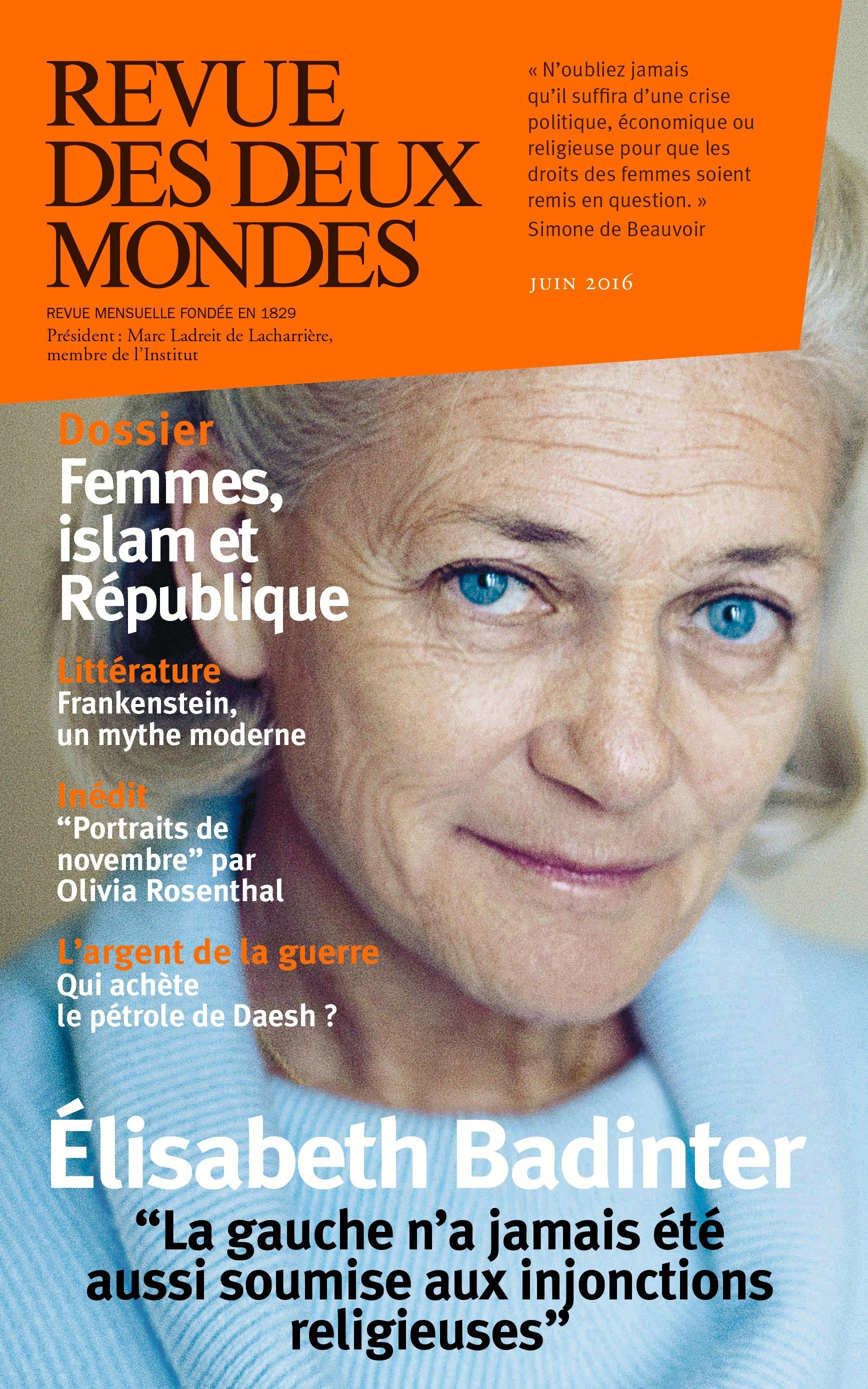 REVUE DES DEUX MONDES ; femmes, islam et République