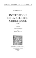 Vente EBooks : Institution de la religion chrétienne (1541)  - Jean Calvin