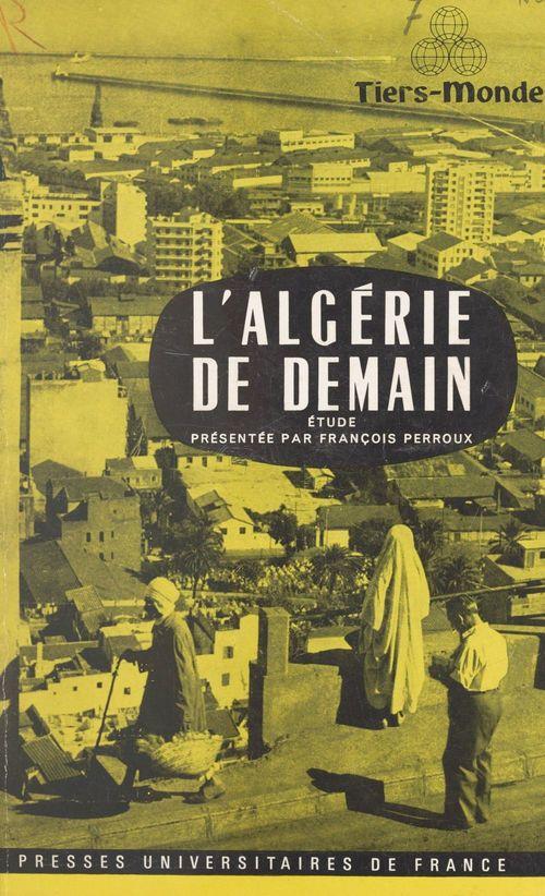 L'Algérie de demain