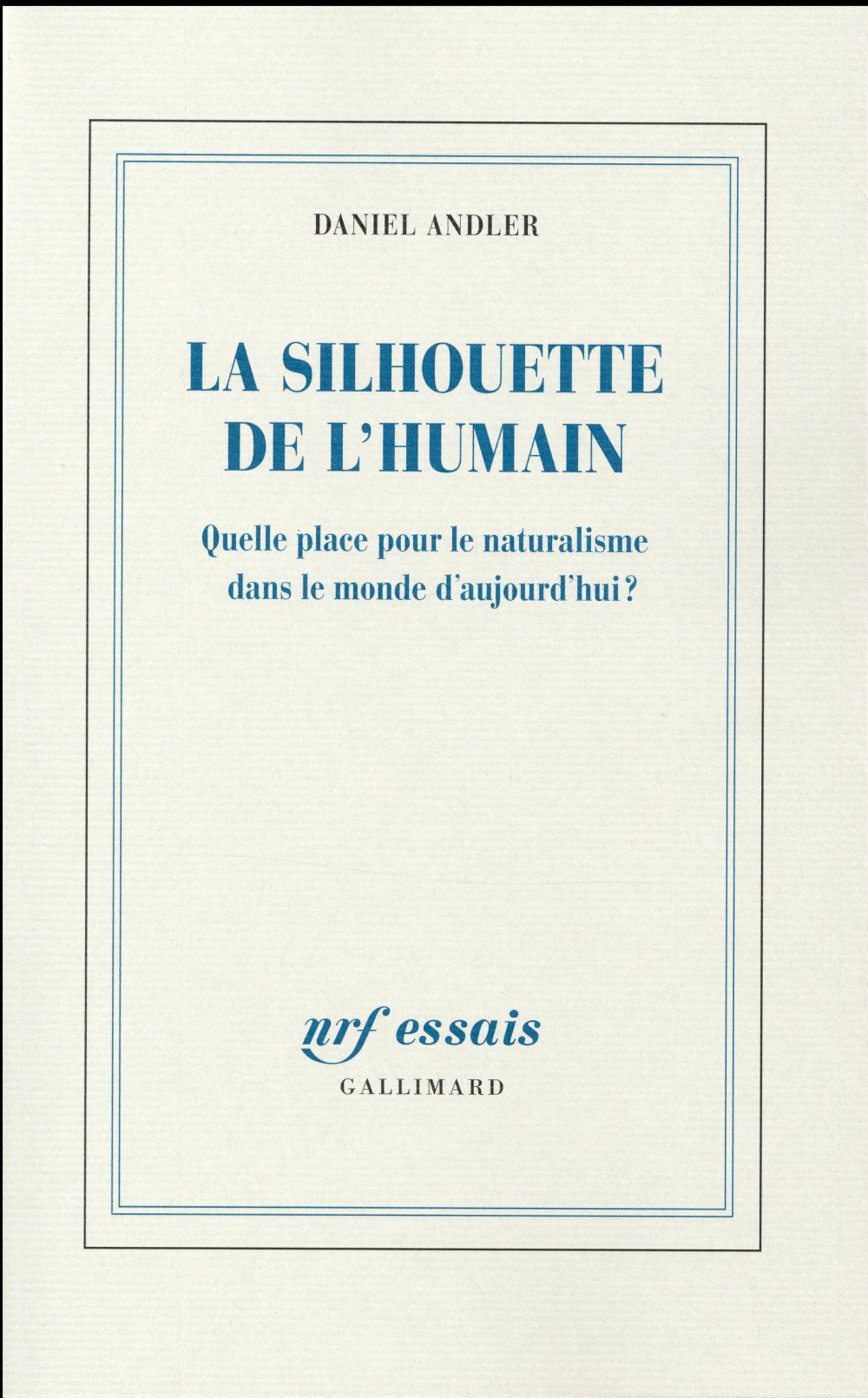 La silhouette de l'humain