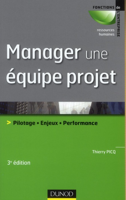 Manager Une Equipe Projet ; Pilotage, Enjeux, Performance (3e Edition)