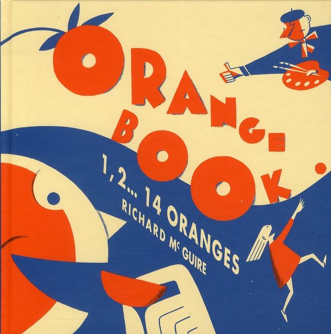 orange book ; 1, 2... 14 oranges