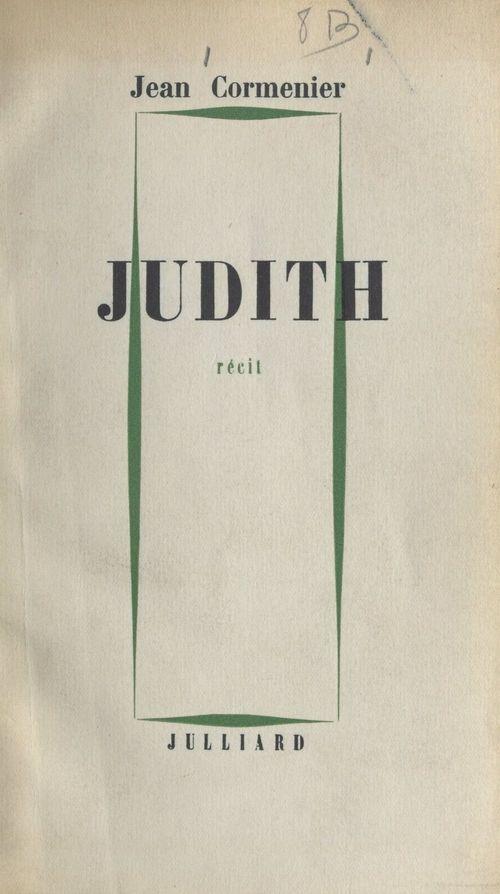 Judith  - Jean Cormenier