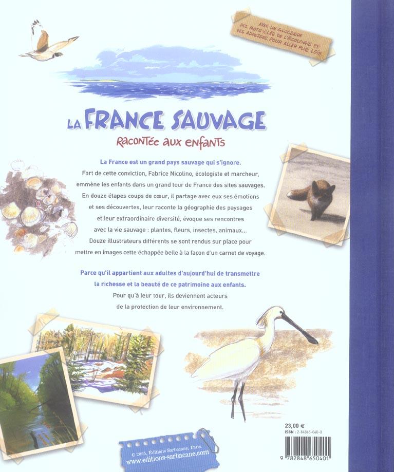 La France sauvage racontée aux enfants