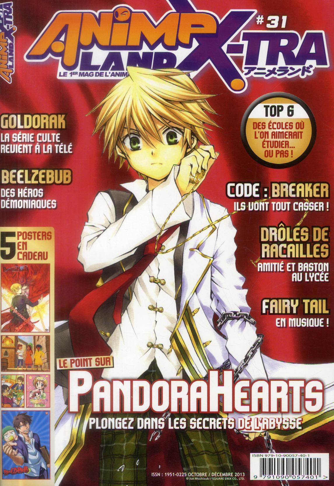 Animeland x-tra ; octobre-decembre