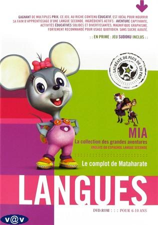 mia langues : le complot de Mataharate