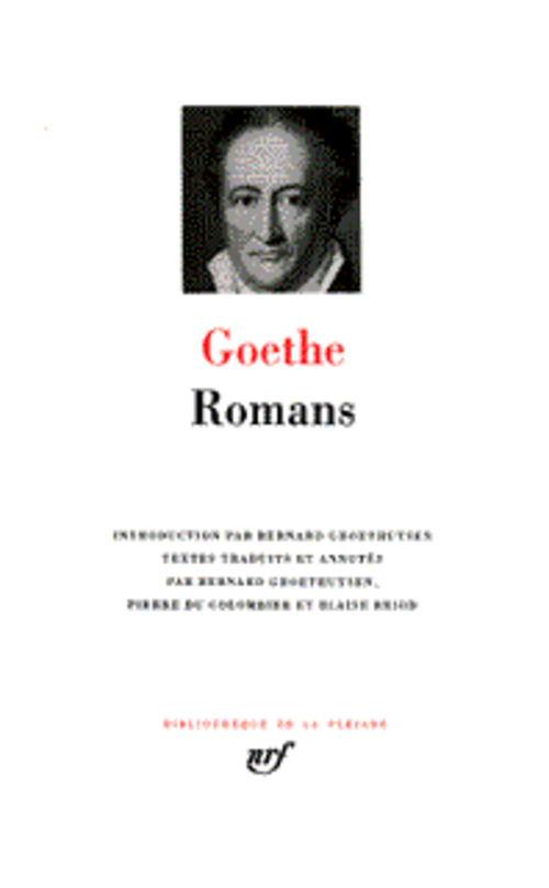 GOETHE - ROMANS