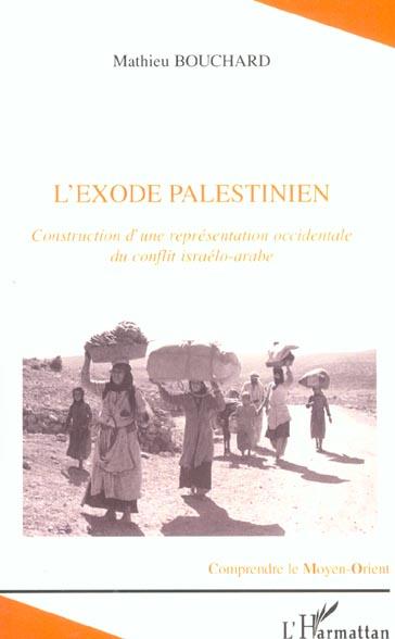 L'exode palestinien
