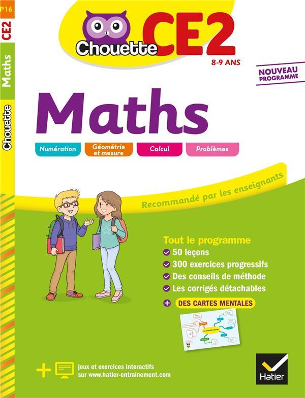 Chouette entraînement ; maths ; CE2